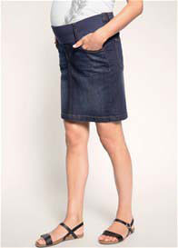 Esprit - Underbelly Denim Skirt in Dark Wash