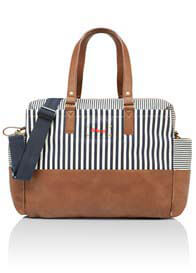 Babymel - Millie Baby Bag in Stripe Navy