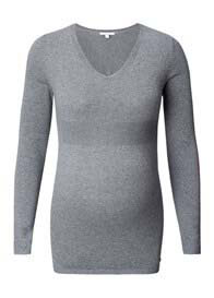 Esprit - Fitted Maternity Jumper in Grey