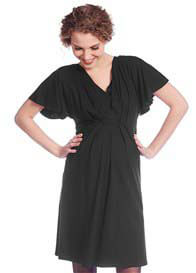 Queen mum - Butterfly Pleat Nursing Dress