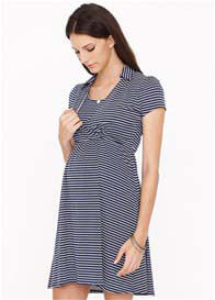 Dote - Catherine Collared Nursing Dress - ON SALE
