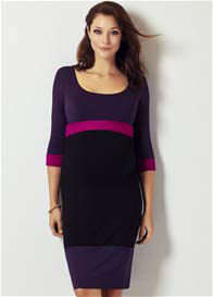 Tiffany Rose - Purple Colour Block Dress