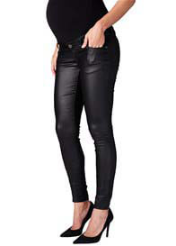 Supermom - Coated Skinny Jeans