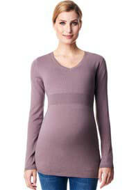 Esprit - Cashmere Blend Fitted Jumper in Taupe