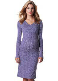 Esprit - Columbine Blue Print Nursing Dress