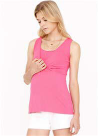 Dote - Evie Bamboo Nursing Top in Fuchsia - ON SALE