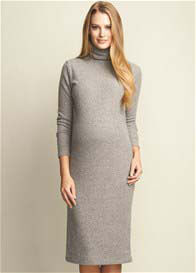Maternal America - Turtleneck Sweater Dress