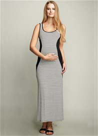 Maternal America - Side Insert Maxi Dress