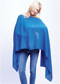 Maternal America - Nursing Scarf in Royal Blue