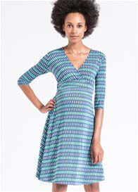 Leota - Lapis Lazuli Perfect Wrap Dress