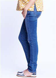 Maternal America - Classic Wash Belly Support Skinny Jeans - ON SALE