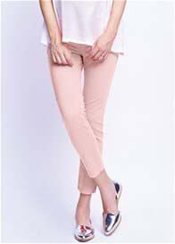 Maternal America - Dusty Pink Skinny Ankle Jeans