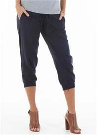 Trimester™ - Zackary Navy Linen Pants - ON SALE