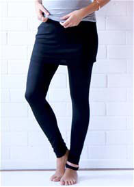 Trimester™ - Brooks Skirted Legging in Black