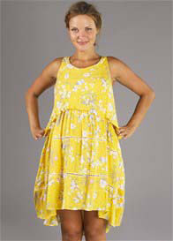 Fillyboo - Freedom Nursing Dress in Marigold Floral