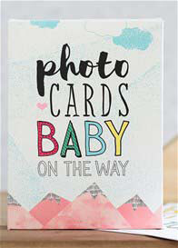 Write To Me - Baby On The Way Milestone Photo Cards
