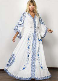 Fillyboo - Cleo Embroidered Maxi Dress Duster
