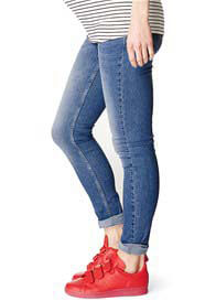 Supermom - Skinny Jeans in Mid Blue Wash