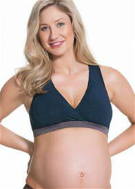 Cake Maternity - Milk Bamboo Nursing Sleep Bra in Navy