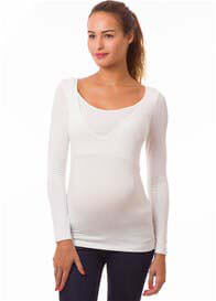 Pomkin - Milkizzy Aurelie Organic Nursing Top in Off-White