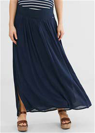 Esprit - Chiffon Maxi Skirt in Night Blue