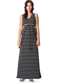 Noppies - Mila Maxi Dress in Black Stripes