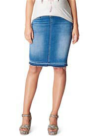 Noppies - Joy Distressed Denim Skirt in Light Wash
