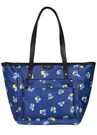 TWELVE little - Everyday Tote Plus in Navy Floral