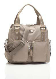 Storksak - Alexa Nappy Bag in Taupe