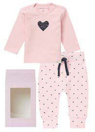 Noppies Baby - Baby Gift Set in Light Rose