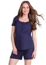 Seraphine - Cody Button Nursing PJ Set