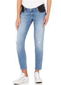 Mavi - Reina Ankle Destructed Vintage Skinny Jeans - ON SALE