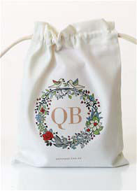 QueenBee® - Signature Christmas Gift Bag w Card