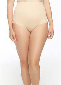 Leah High Waist Bonded Control Brief in Nude