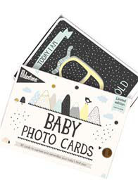 Milestone Cards - Over the Moon Baby Photo Cards