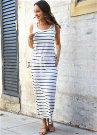 Trimester® - Delta Breastfeeding Maxi Dress