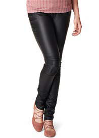 Noppies - Jessie Coated Skinny Black Jeans