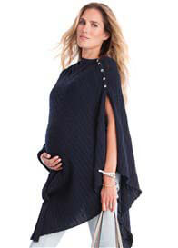 Seraphine - Joyce Cable Knit Nursing Shawl