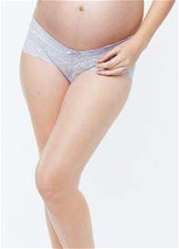 Belabumbum - Tallulah Lace Boyshort in Lilac - ON SALE