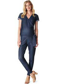 Noppies - Aafke Denim Look Maternity Jumpsuit