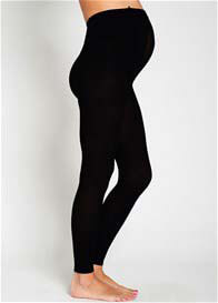 Ambra - Baby Bump 200 Denier Opaque Footless Tights