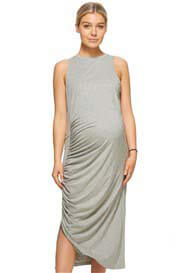 Bae - Nostalgia Gathered Maxi Dress