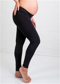 Trimester™ - Oasis Long Maternity Leggings in Black