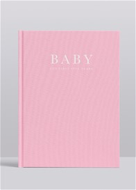 Write To Me - Baby Journal in Limited Edition Pink